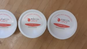 Rubicon Dance fundraising buckets